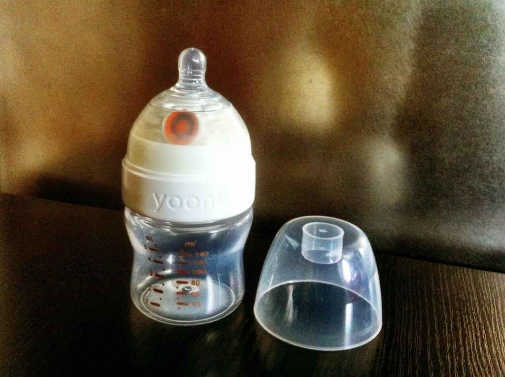 Butelka Yoomi zzamontowanym podgrzewaczem