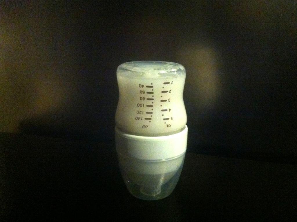 Podgrzewanie mleka wbutelce