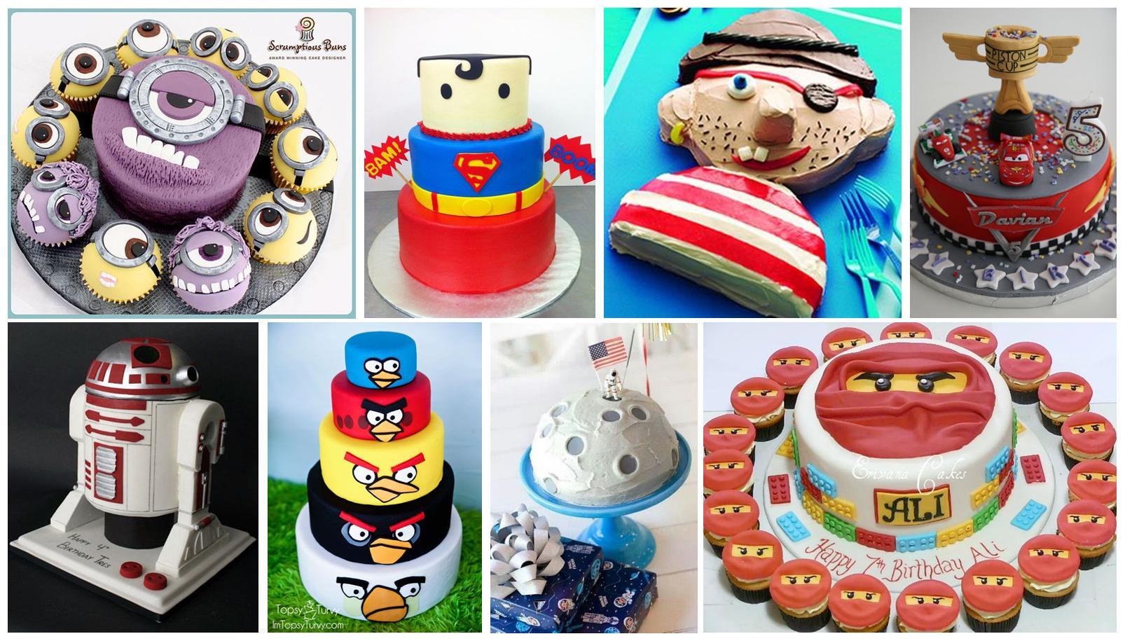 30 Pomysłów Na Tort Urodzinowy Dla Chłopca Mamy Gadżety