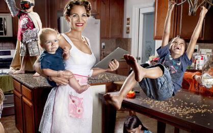 Jak przetrwać Dzień Samotnej Matki?