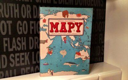 Podróż dookoła świata palcem po Mapach