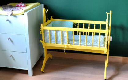 Kącik dla noworodka w naszej sypialni
