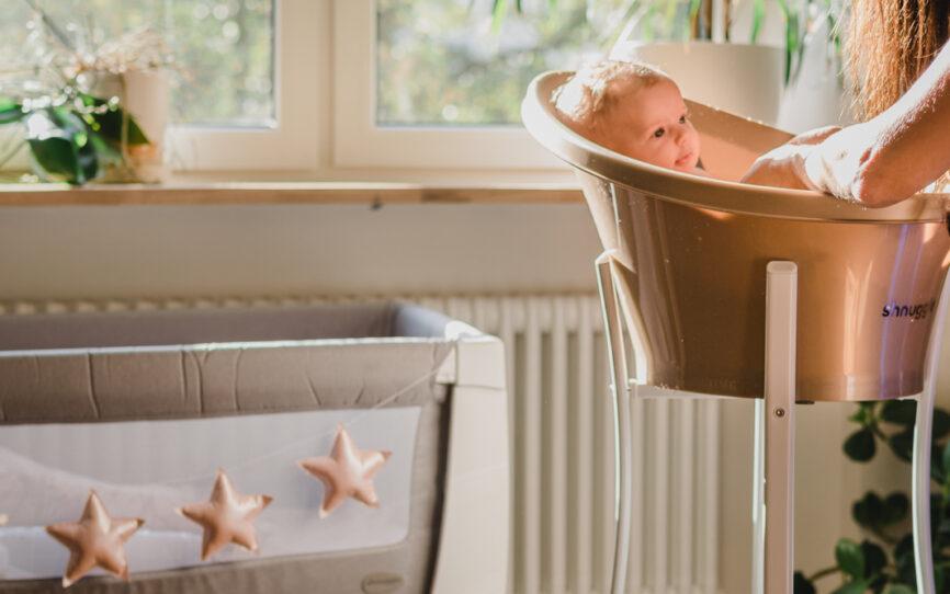Shnuggle Baby – nietypowa wanienka dla najmłodszych