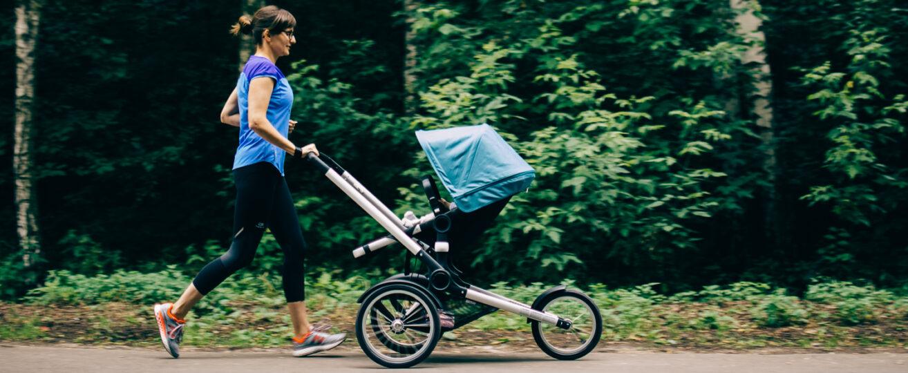 3 sposoby na bieganie z dzieckiem