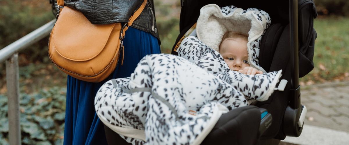 Lodger Mini-Bunker — śpiworek do fotelika dla niemowląt
