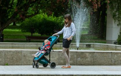 Greentom Upp Classic – eko spacerówka dla starszaków