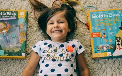 GoldieBlox – klocki konstrukcyjne, które każda dziewczynka musi mieć!