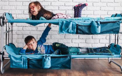 Piętrowe łóżko turystyczne Kid-O-Bunk