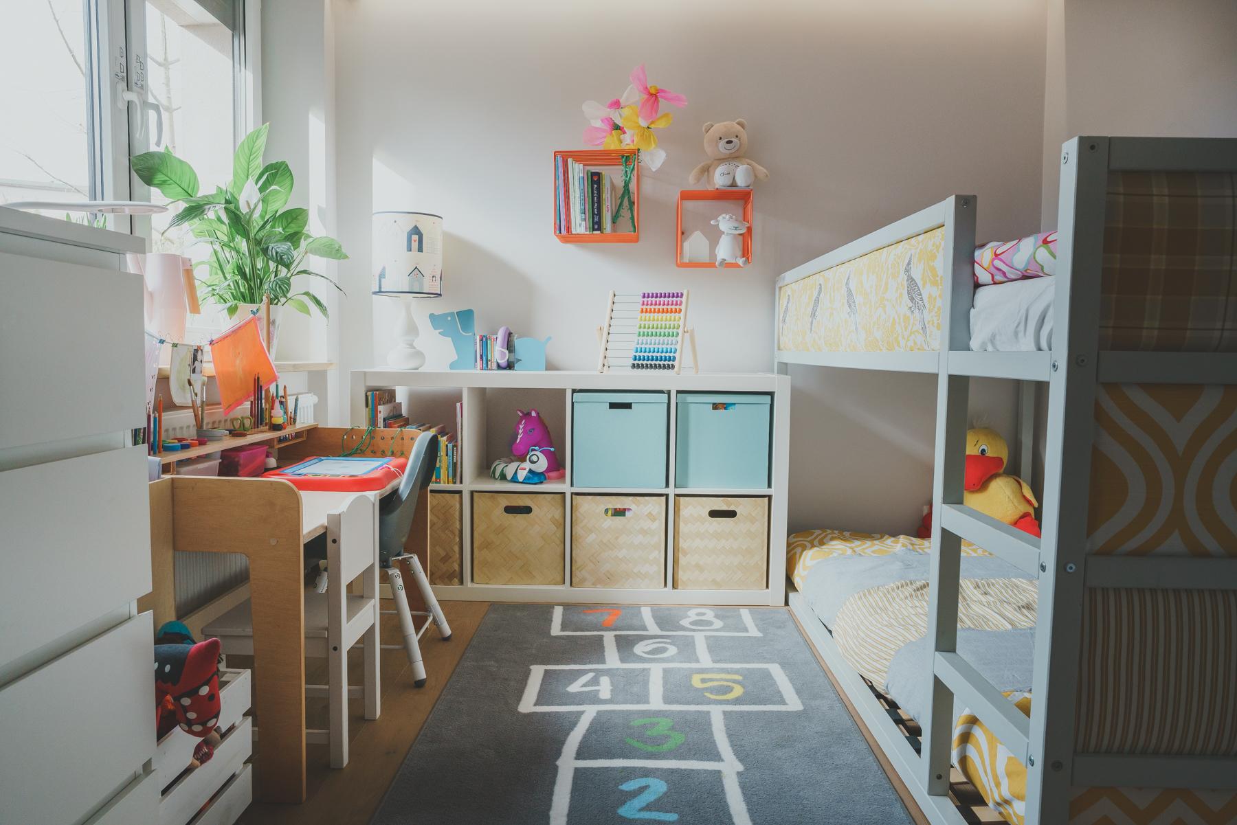 Mały Pokój Dziewczynek Czyli Jak Upchnąć Dwoje Dzieci Na 10m²
