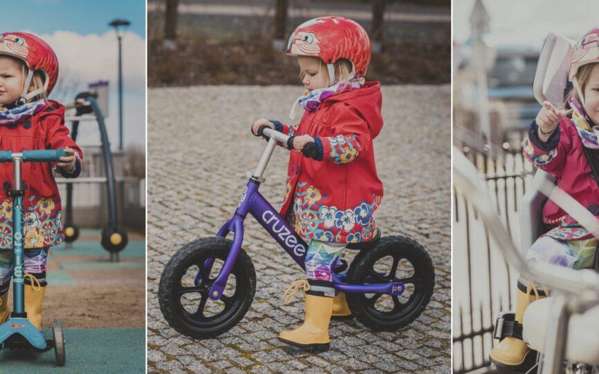 Poradnik Wiosenny, czyli hulajnogi, rowerki i inne wiosenne gadżety