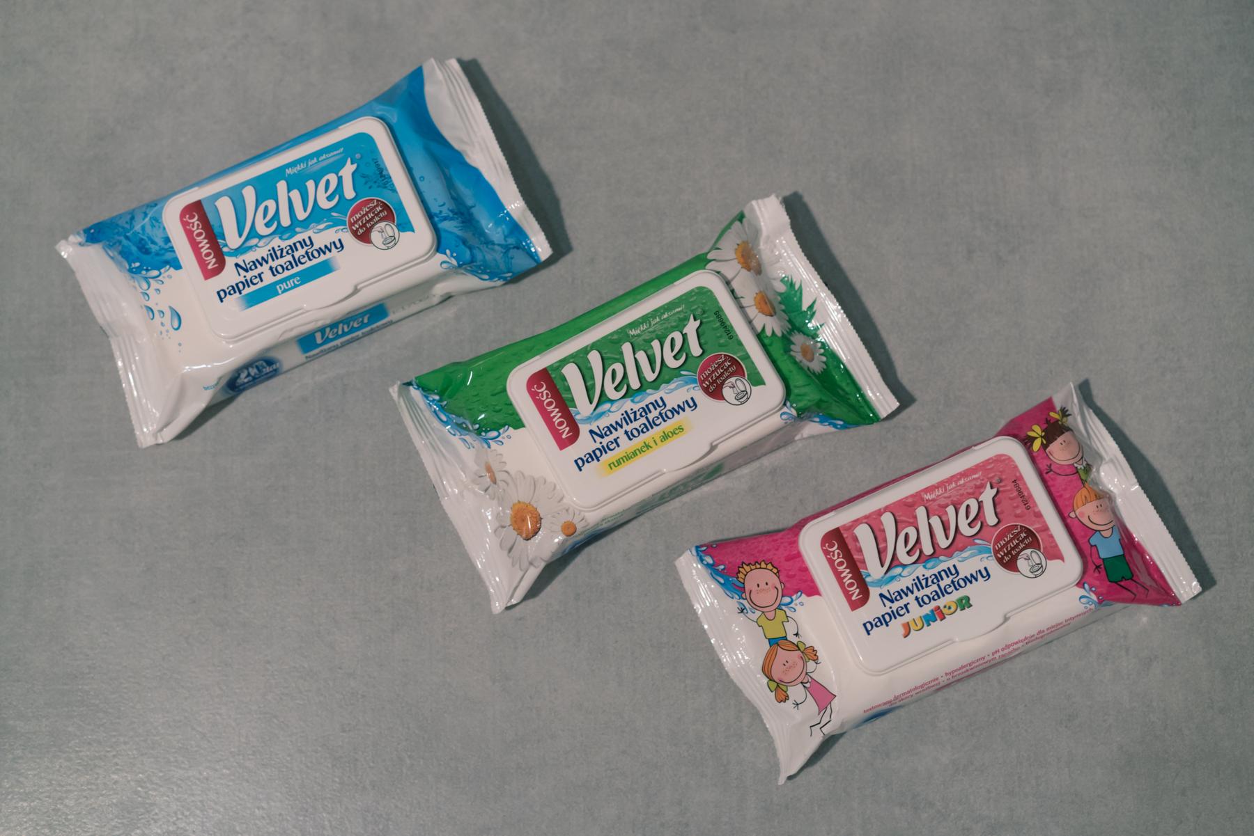 nawilżany papier toaletowy