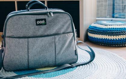 Bizzi Growin Pod – torba dla rodziców i łóżeczko dla niemowlaka w jednym!
