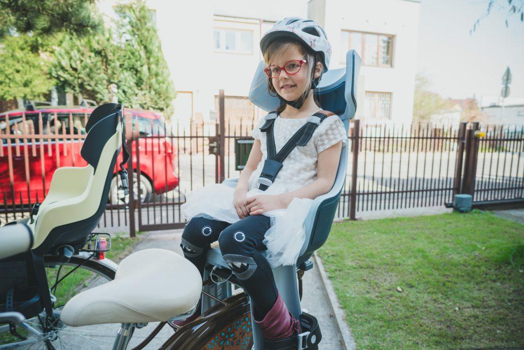 fotelik rowerowy bobike
