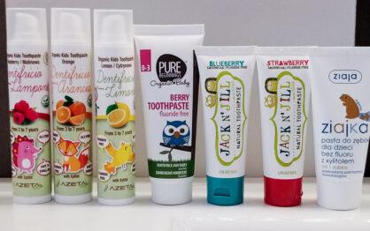 Najlepsze pasty do zębów do żłobka, przedszkola i szkoły