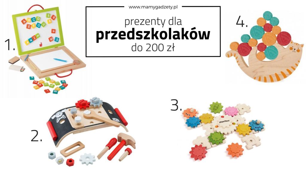 prezent dla przedszkolaka