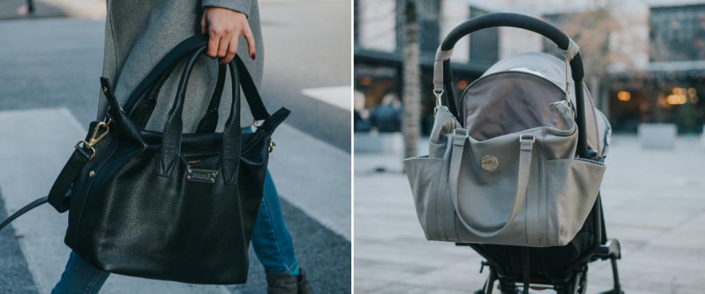 15b035a10e3e2 Obydwie torby pokazałam na blogu w styczniu w ramach przeglądu polskich  toreb dla mam i od stycznia jestem z nimi praktycznie nierozłączna.