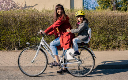 Polisport Guppy Junior – fotelik rowerowy dla starszaków