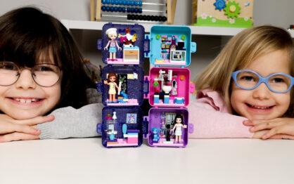 Kostki do zabawy – początek naszej przygody z LEGO Friends