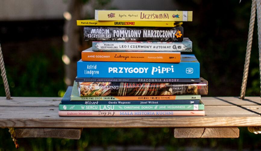 Nowości książkowe w naszej biblioteczce – 12 książek dla dzieci od 3 do 12 lat