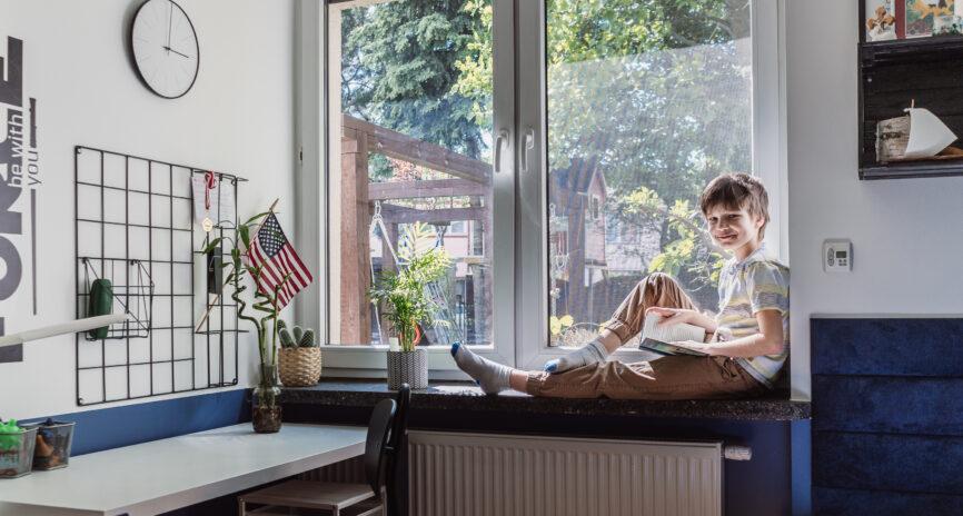 Pokój prawie nastolatka – metamorfoza pokoju Franka