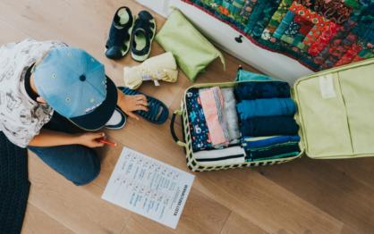 Poradnik Wakacyjny: Jak spakować dziecko na wakacje?