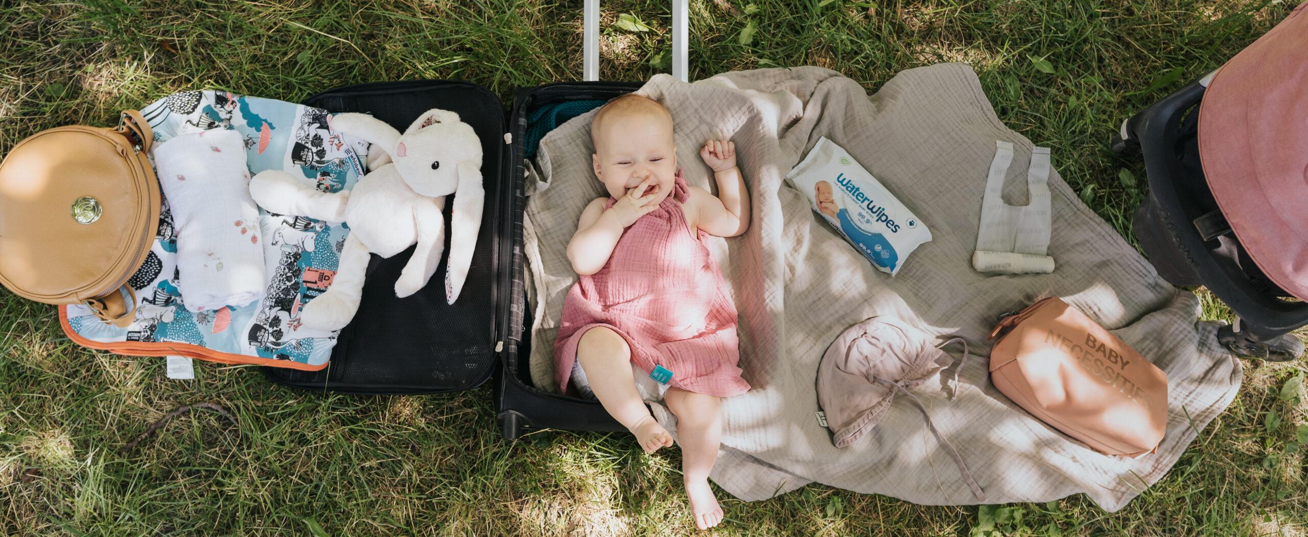 Pierwsza podróż z niemowlakiem — mój niezbędnik
